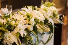結婚式の会場装花