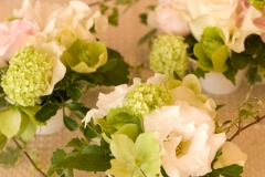 季節のお花の会場装花