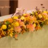 秋の会場装花