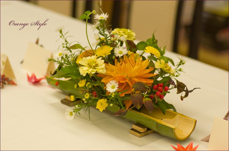 和の会場装花